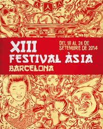 Cartel Festival de Asia en Barcelona